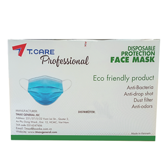 4 Layers Facial Masks T.Care (Box/50 pcs)